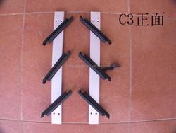aluminium plastic C3 louver frame