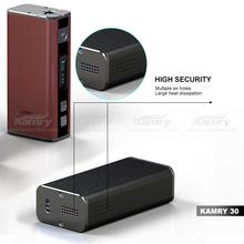 2015 Latest Unique Design Variable Wattage kamry 30W box mod e cigarette