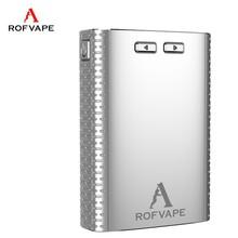 Hot selling american electronic cigarette A Box 150w big battery 2500mah*3 titan box mod e cigarette from Rofvape