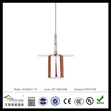 2015 china modern glass pendant light for indoor