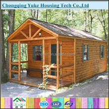 2015 beautiful design Prefab Wooden House for sale