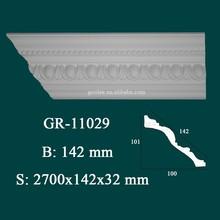 Polyurehtane Pop Building Material Cornice Moulding for Ceiling Decoration