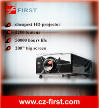 2200lumens professional led projector for home theater system movie theater projectors for sale