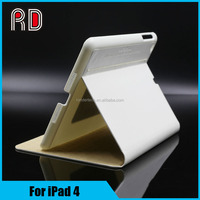 Folio PU Leather Wallet Smart Sleep Case Cover for iPad 4