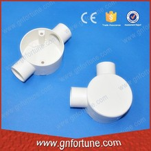 Full Size 2 Way Box Electrical PVC Junction Box