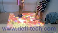 FREE SHIPPING 111 effectives Interactive floor projection system,Support people while interaction
