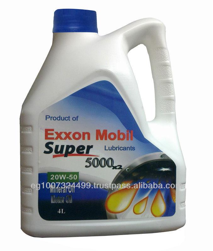 Exxonmobil Super 5000 Gasoline Engine Oil Buy Engine Oil