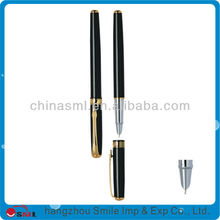 wholesale high quality black silver plating fountain pen