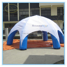 Hot-selling outdoor PVC 0.55mm clear inflatable bubble tent/inflatable bubble camping tent for sale