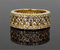 Кольцо Myself Jewellery Sparkly 18k AAA MYYR7080