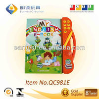 Attractive Educational learning child book with 15 Languages