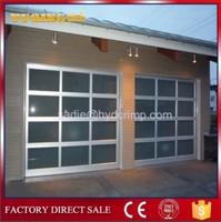 YQG-02 automatic aluminum frame glass garage door, 433mhz universal garage door opener remote control
