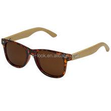 Bamboo Wood Temple Polarized Sunglasses