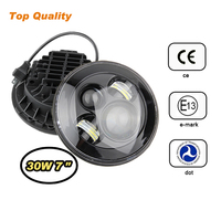 IP67 Water Resistant High Low Beam Integrated 7 Inch LED Headlight Kit for Jeep