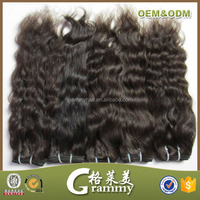 factory new arrival high quality can be bleach&dye very long hair extensions