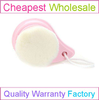 Face Cleansing Brush Facial Deep Cleaning Makeup Removal Skin Pore Cleanser Care (Pink)