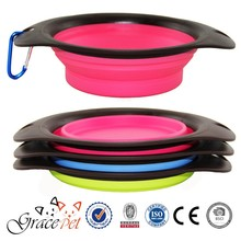 Silicone Pet Foldable Bowl/Dog Travel Bowl