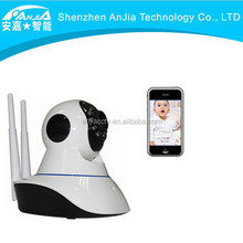 Promotion low cost ip camera speaker microphone, two-way audio support 64G TF card