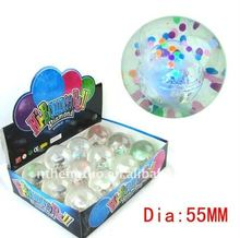 Soft TPU bouncing toy ball/Bouncy Water Ball/Popular Pet's Toy
