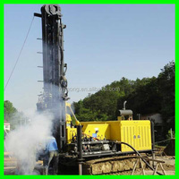 Factory price KW10 120m water well digging equipment can drill hard rock