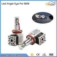 Appearance Patent Design!!! Wholesale Price New Products 80W H8 Led Angel Eyes, Super Bright 2300Lm Angel Eyes Headlights