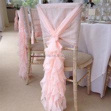 Fancy Chiavari Wedding Ruffled Chair Covers Chair Covers For Weddings With Ruffles