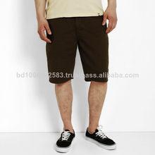 Calidad para hombre pantalones cortos, 100% pantalones cortos de algodón, las bermudas pantalones cortos