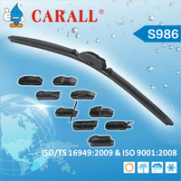 2015 New multi-functional flat wiper blade with excellent wiping performance