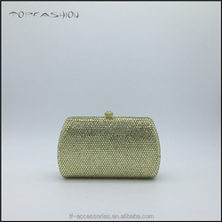 Wholesale banana crystal evening bags vintage mini women evening bags TFC1584