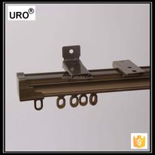 flexible metal aluminium curtain track