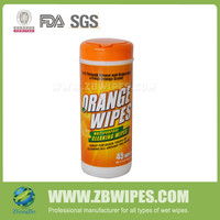 Disposable Unfragranced Detergent Remover Sweeper Tissues