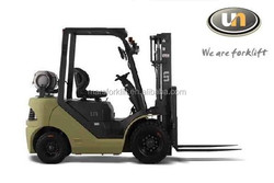 Hot UN 1.5T Forklift China New Gasoline Forklift Truck With CE Certificate