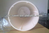 SWIN high grade noiceless PVC drainage pipe with cheap price/white PVC pipe/spiral silencing drainage pipe