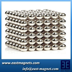china industrial supply ndfeb monopole ball magnets for sale