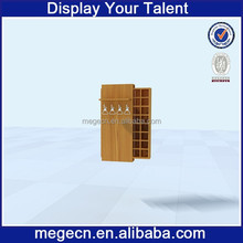 fashion clothing shop furniture wooden tie display case