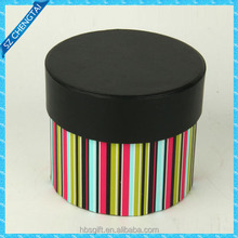 Experienced Factory Directly Customized Rigid Cardboard Round Gift Box