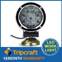 Wholesales! 8PCS/LOT! 45W LED WORK LAMP for Motorcycle SUV ATV Off-Road Car 12v 24v