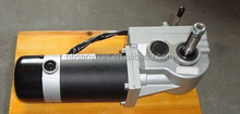 dc motor brush gear motor for wheelchair usage