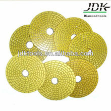 Wet&Dry Angle Grinding Polishing Pads for Marble and Granite