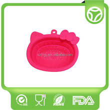 Top quality antique shape silicone solid basket