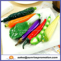Eco-friendly and non-toxic Vegetables and Fruit cartoon pen
