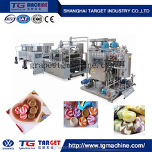 Unique Provide GD Series Full automatic serve driven hard candy depositing line