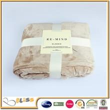 ultra soft flannel blanket fleece throw blanket sheet solid color