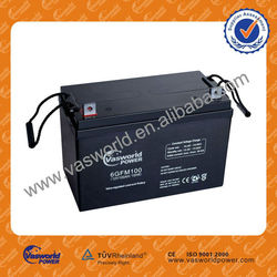 Guangzhou Factory sale directly cheap wholesale price 12v 100ah inverter battery agm battery for Pakistan market
