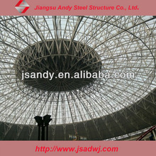 truss dome roof for shopping mall