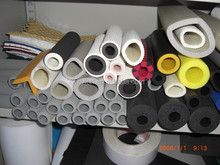 Insulation Pipe / Insulation Rubber Foam Pipe / Insulation Closed Cell Pvc Nbr Pipe