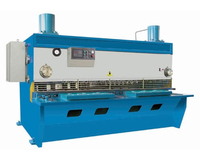 High precision and speeds Hydraulic steel sheet guillotine shear