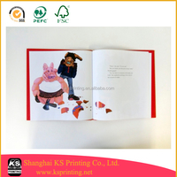 Reliable Chinese printing factory for children book publishers