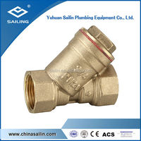Y type good quality brass forged filter