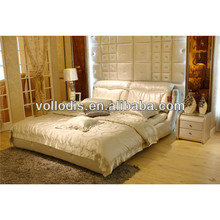 2014 classic genuine leather bed